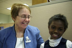 Sr. Suzette with child